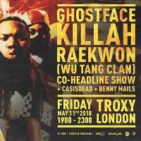 Ghostface Killah and Raekwon (Wu Tang Clan) Live