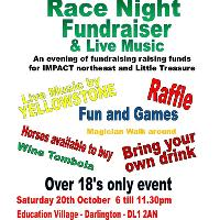 Horse Racing and Live Music Fundraiser