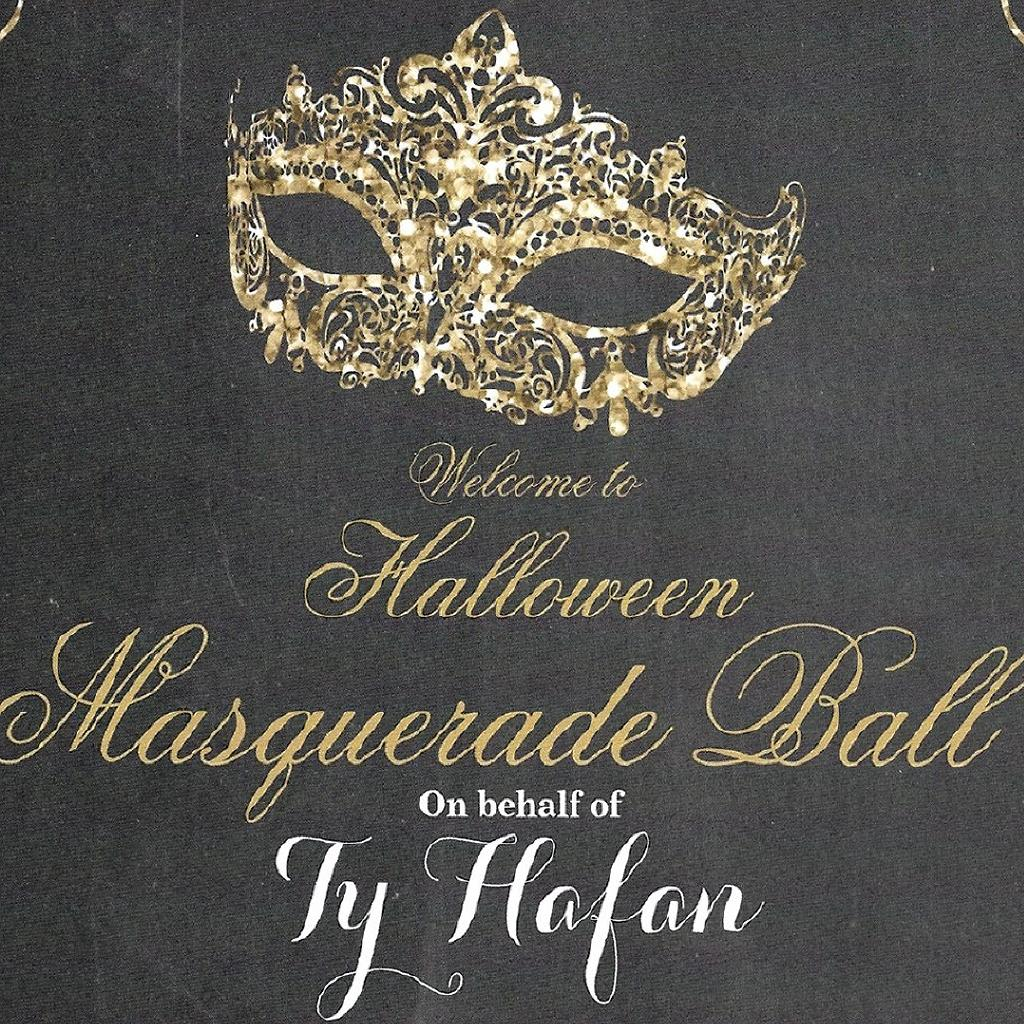 Halloween Masquerade Ball on Behalf of Ty Hafan
