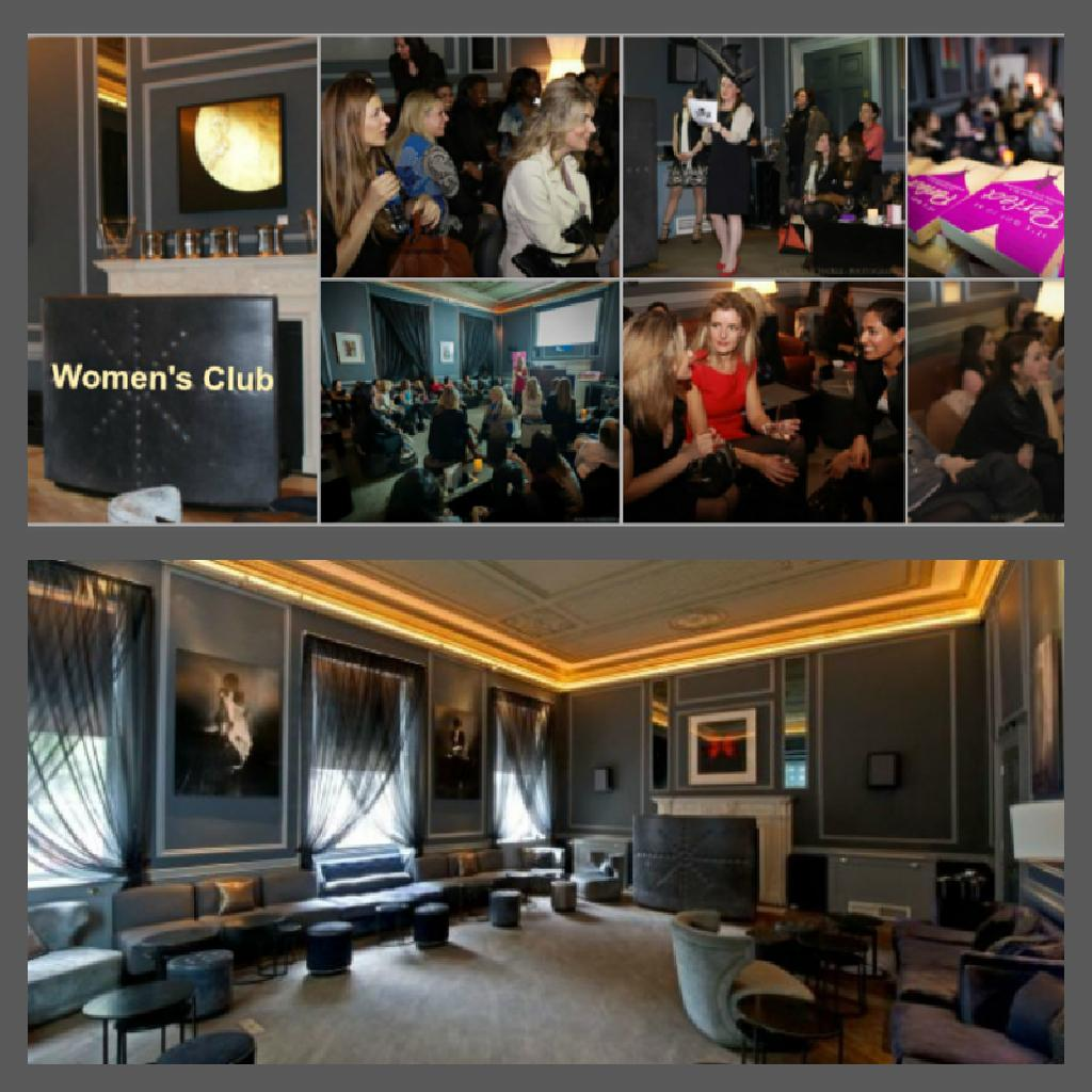 The Womens Club With Elevator Pitch At Home House