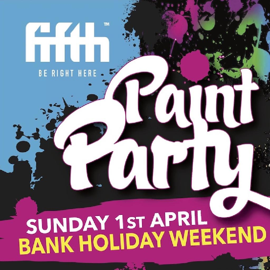 Bank Holiday Paint Party