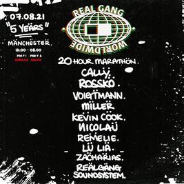 Real Gang 20 Hour Marathon 5th Anniversary Part 1