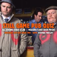 Still Game Pub Quiz