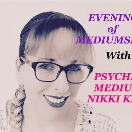 Evening of Mediumship with Nikki Kitt - Chacewater