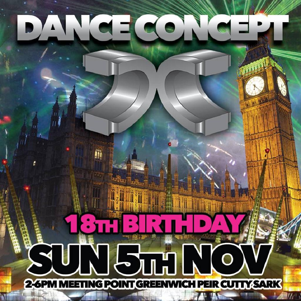 Dance Concept 18th Birthday Boat Party