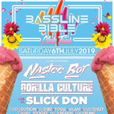 Bassline Bible Club tour Leicester