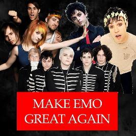 Make Emo Great Again - Newcastle