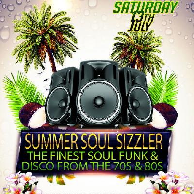 Summer Soul Sizzler soul city weymouth 70s 80s disco funk motown