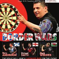 Borders Wars Darts featuring Gary Anderson