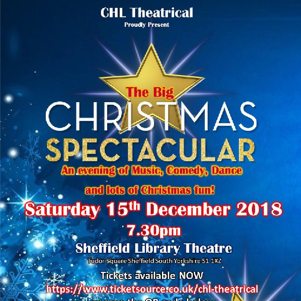 The Big Christmas Spectacular Tickets | LIBRARY THEATRE Sheffield ...