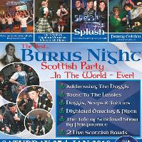 Burns Night Supper & Highland Party!