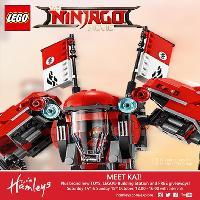 Meet Kai at Hamleys with the LEGO? Ninjago™ Movie Tour
