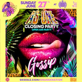 Gossip - As One Festival Weekender