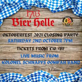 Oktoberfest 2021 closing party