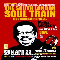 Soul Train presents Fred Wesley and New J.B.s (Live)