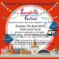 Thai new year and food festival 2019