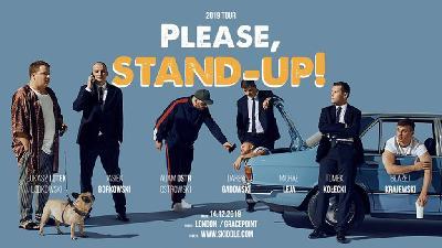Please, stand-up! w Londynie