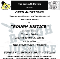 Open Auditions for 'Rough Justice'