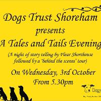 A Tales & Tails evening at Dogs Trust Shoreham