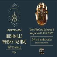 Bushmills Whisky Tasting