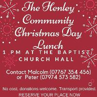 Henley Community Christmas day Lunch
