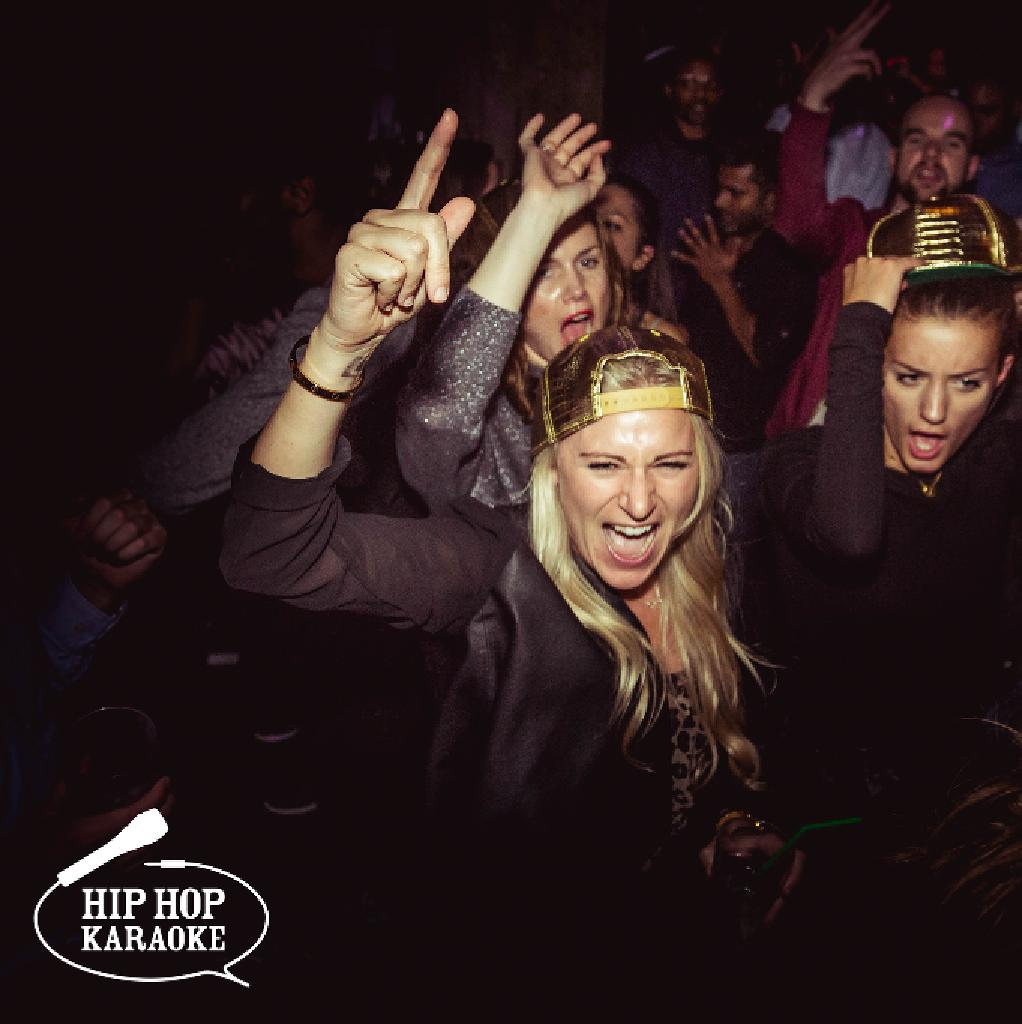 Hip Hop Karaoke at the Queen of Hoxton
