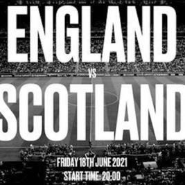 EURO 2021 - England vs Scotland