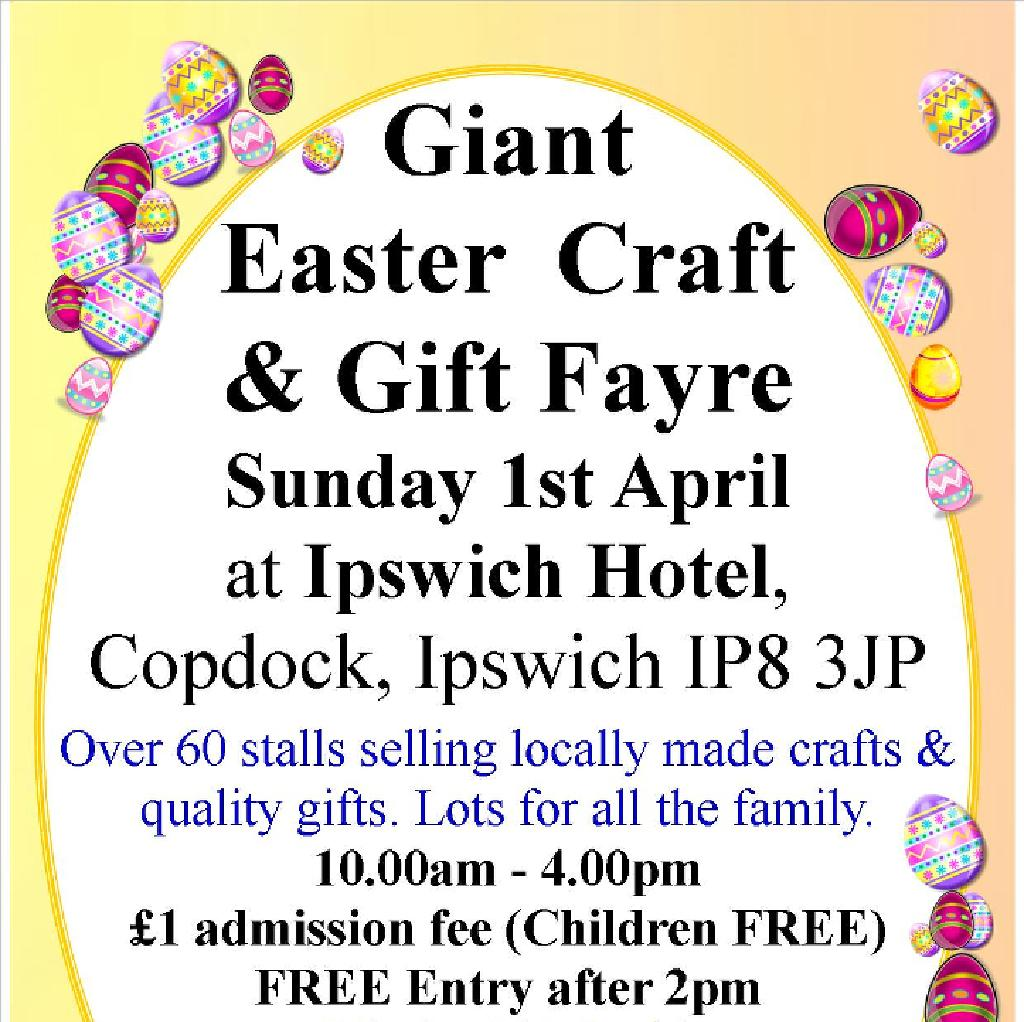 Giant Easter Craft and Gift Fayre