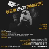 NoNonSense Presents: Berlin meets Frankfurt: RAWAX B2B SUENA HER