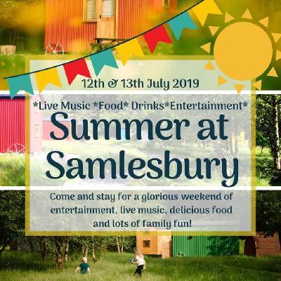 Summer at Samlesbury