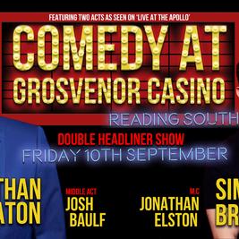 Comedy at Grosvenor Casino Reading South