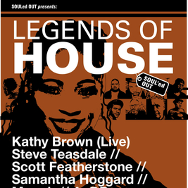 Legends Of House Presents.. Kathy Brown (Live Performance)