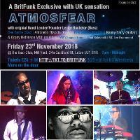 BritFunk Band ATMOSFEAR in Luton Friday 23rd Nov!