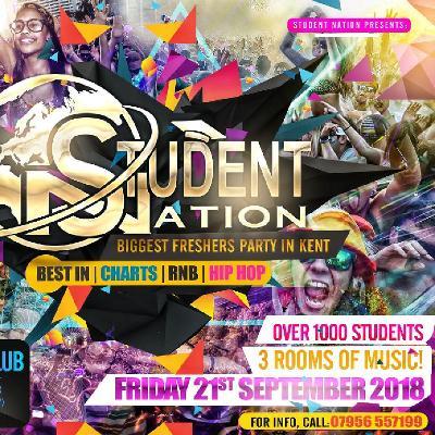 Student Nation Tickets | MOOMOO NIGHT CLUB Gillingham | Fri 21st