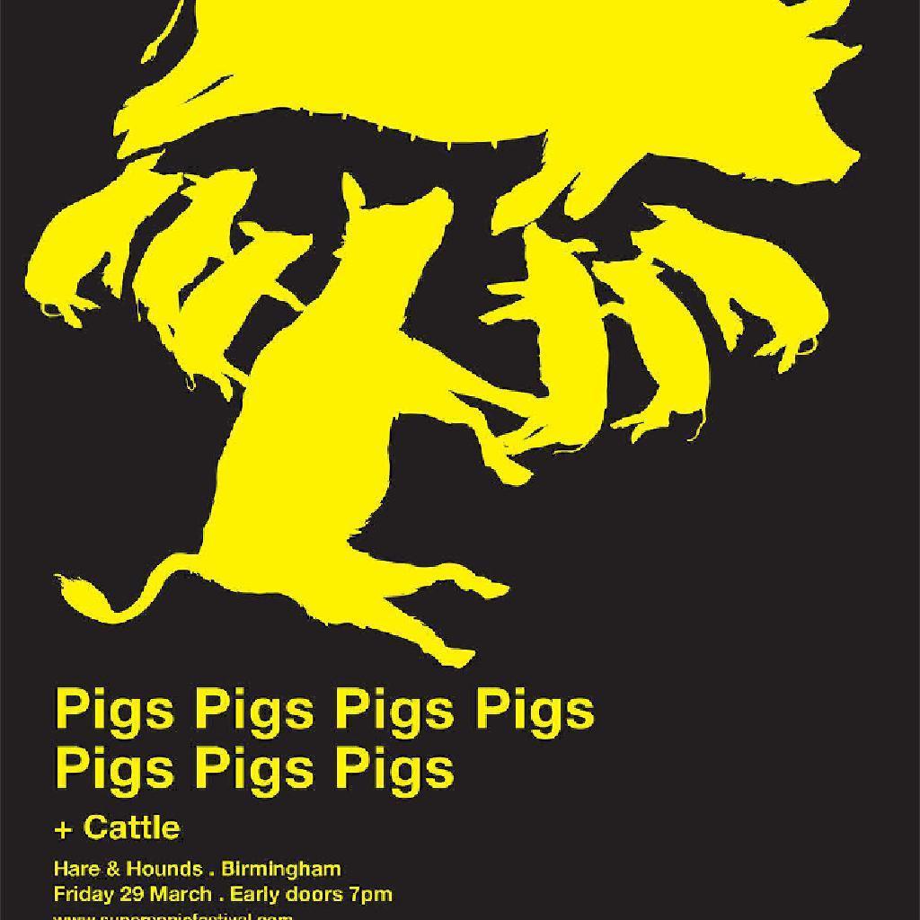 Pigs pigs pigs pigs pigs pigs pigs + Cattle