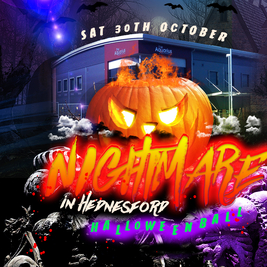Nightmare in Hednesford Halloween Ball