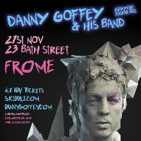 Danny Goffey & his band @ 23 Bath St, Frome
