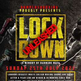 Lockdown Unleashed - A night of White Collar Boxing
