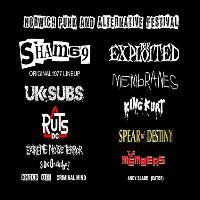 THE EXPLOITED, MEMBRANES, KING KURT, SPEAR OF DESTINY, MEMBERS