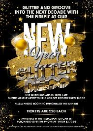 Venue: NYE Glitter DISCO | The Firepit Southport Southport  | Tue 31st December 2019