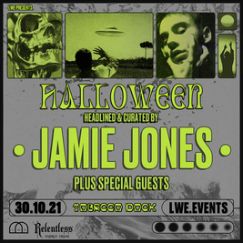 Jamie Jones and LWE present Halloween at Tobacco Dock