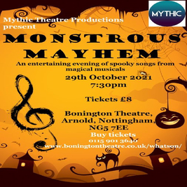 Monstrous Mayhem - Halloween Musical Night