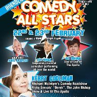 Comedy All Stars 22nd February
