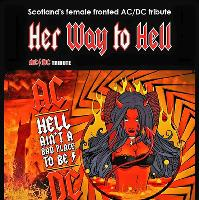 ac/dc tribute her way to hell
