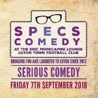 Specs Comedy - September 2018