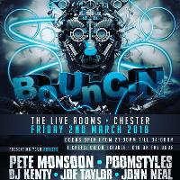 Bounc:n @The Live Rooms Friday March 2nd