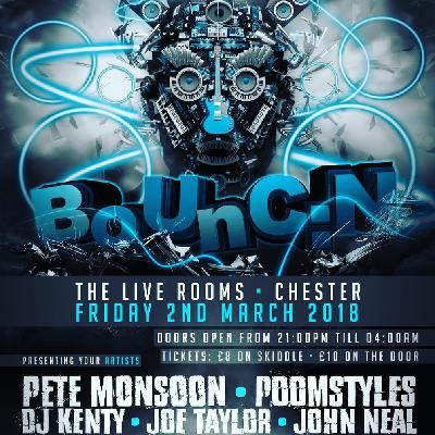venue bounc n the live rooms friday march 2nd the live rooms l1
