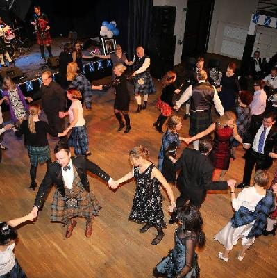 Burns Night Ceilidh with The Moody Food Ceili Band at Lawton Memorial Hall