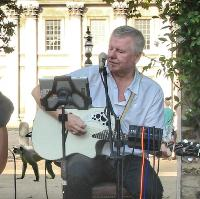 Courtyard 2nd Thursday of the month with Gordon Mark Webber