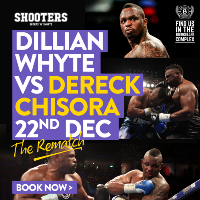Whyte v Chisora Live At Shooters
